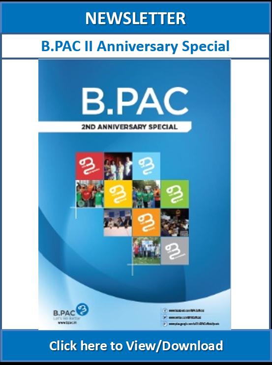 Newsletter BPAC II Anniversary