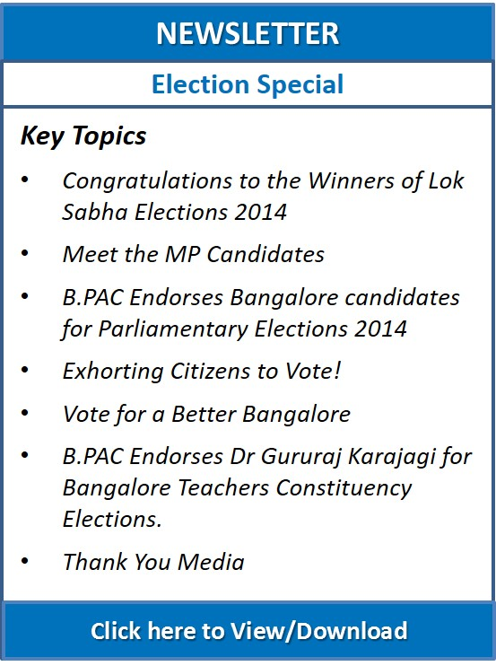 Newsletter Elections Special 2014