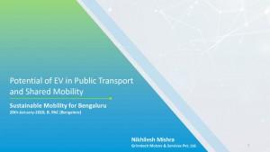 EV in Public Transport